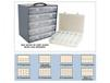STEEL BOX RACKS AND OPTIONS FOR PLASTIC BOXES