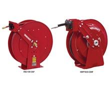 DUAL PEDESTAL AUTO - RETRACTABLE REELS